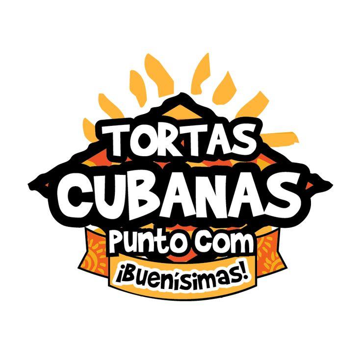Diseño de Logotipo. Cliente: Tortas Cubanas.com. moreno + maldonado diseño.