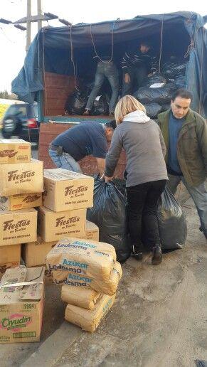 Envio de mercaderia y ropa a provincia dr misiones .13 de junio 2014