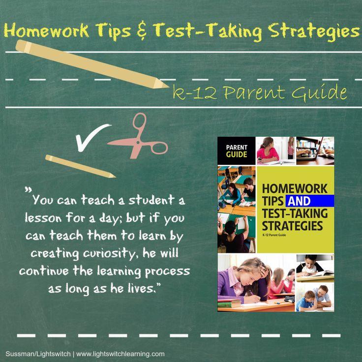Top ten helpful homework hints for students