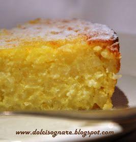torta di riso cremosa