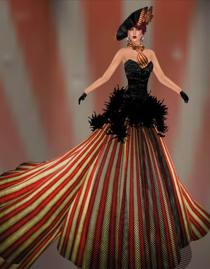 Circus couture - circus tent | Vintage Circus Party Theme | Pinterest | Dress designs Tent and ...