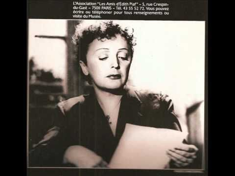 Charles Dumont - Edith Piaf - Les Amants - YouTube