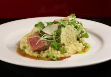Lamb and Baby Pea Risotto