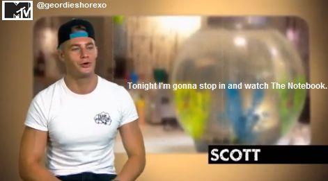 Geordie Shore/ Scott.