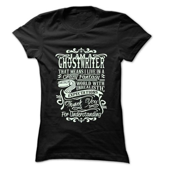 Job Title Ghostwriter ... 99 Cool Job Shirt ! - #grandparent gift #coworker gift. BUY TODAY AND SAVE   => https://www.sunfrog.com/LifeStyle/Job-Title-Ghostwriter-99-Cool-Job-Shirt-.html?60505