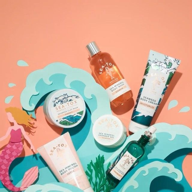 "Bath & Body Works on Instagram: ""Best #MermaidMonday, EVER! NEW Sea-Tox is HERE & packed with nutrient-rich ingredients from the sea 🌊 (like, seaweed, sea minerals & sea…""#bath #body #ingredients #instagram #mermaidmonday #minerals #nutrient #nutrientrich #packed #sea #seatox #seaweed #works"
