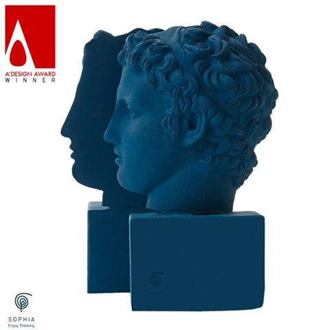 Marathon Boy Bookends won A' Design Award in Furniture, Decorative Items and Home-ware Design Category for 2015-2016.