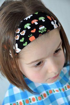 emma en mona: Hoe maak je een haarband in tricot.