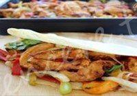 Kolay Tavuk Fajita