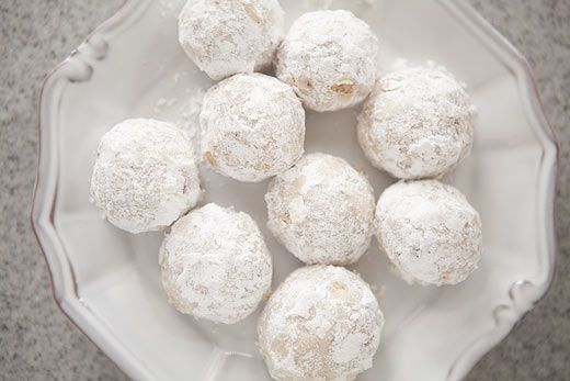 Walnut Snowball Cookies on Simply Recipes
