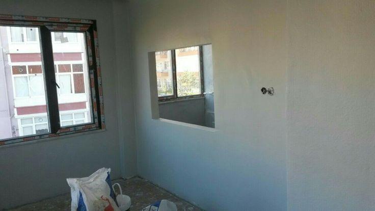 gri duvarlarım