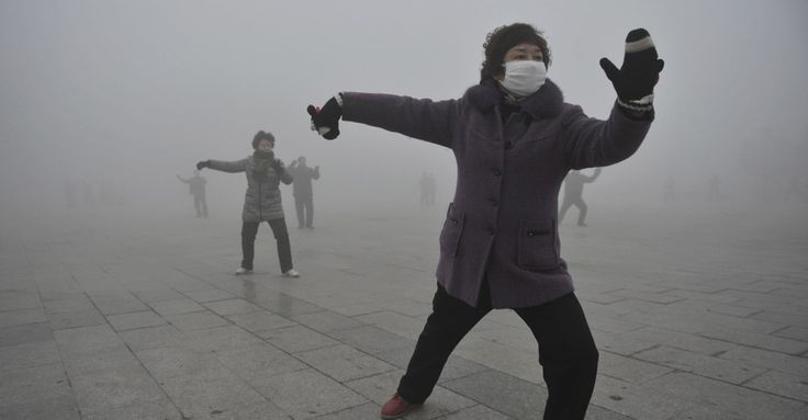 How Climate Change Covered China in Smog  Air quality in Beijing has a lot to do with snowstorms in Siberia.