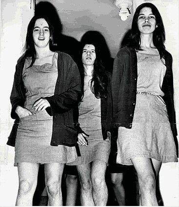"The Manson Girls butchered 6 people in the summer of 69 on direction of Charles Manson. He told them to "" totally destroy everyone in the home as gruesome as you can'. And that they did."