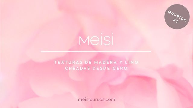 MEISI querido PS - madera y tela by Meisi