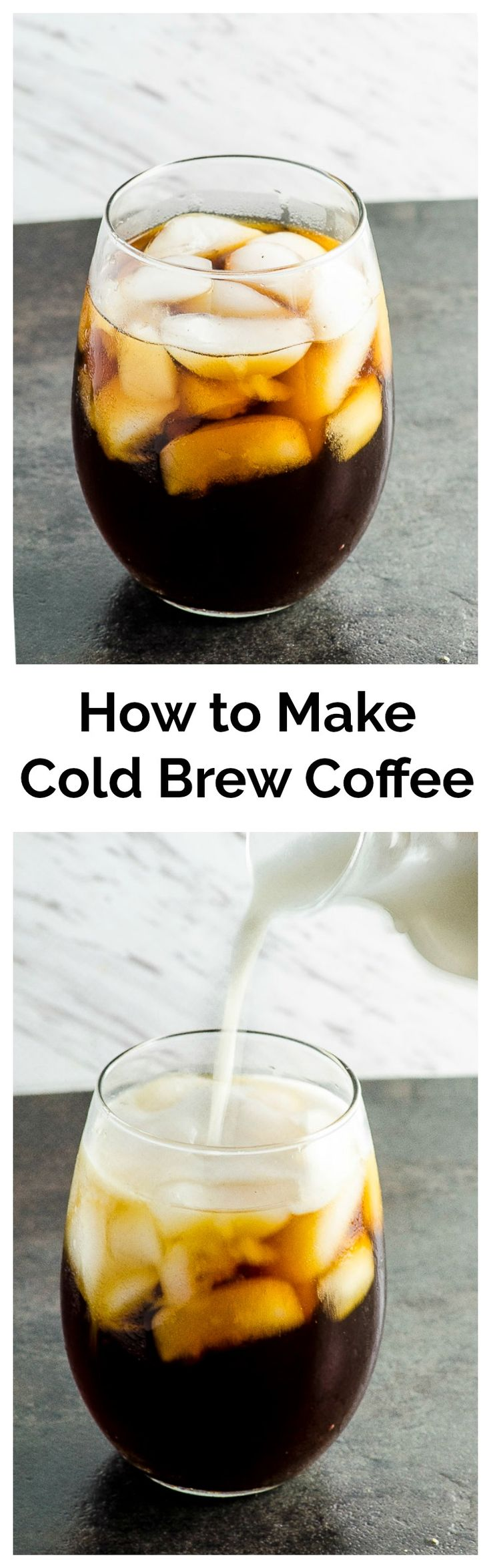 How to make Cold brew. You've probably seen cold brew coffee pop up all over the place lately. But, what exactly is cold brew coffee? To put it simply, it's  coffee that is brewed in cold, not hot, water. The result is a smooth, less acidic coffee where its true flavor shines without being bitter.
