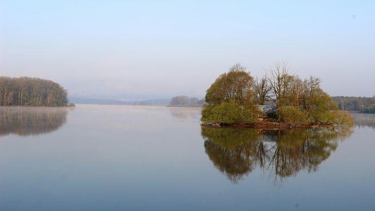 The Svět fish pond in Trebon (cz)