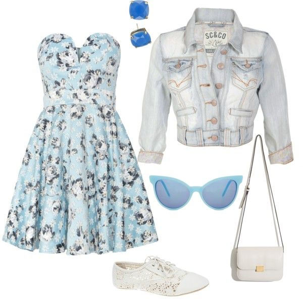 Summer and sea! by catarina-teixeira-de-queiros on Polyvore featuring polyvore fashion style TFNC Wet Seal Kate Spade Wildfox