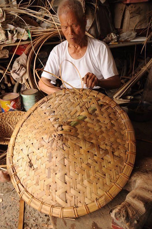 bamboo shield making, Tainan, #Taiwan