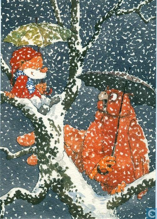 Ansichtkaarten - Strips: Paulus de Boskabouter - Gouden Klassiekers