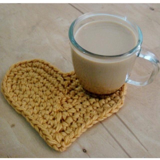 ao with <3 / Crochet coaster
