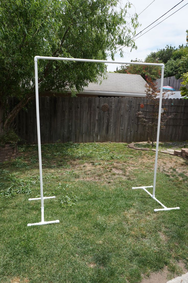 diy arch for wedding using pvc pipes weddings parties