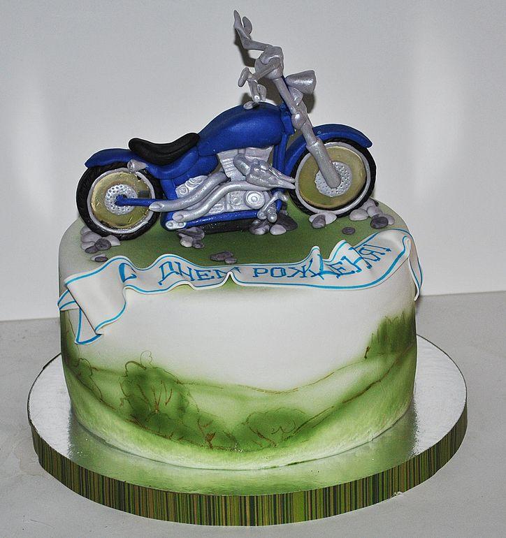 Картинки мотоциклов на торты