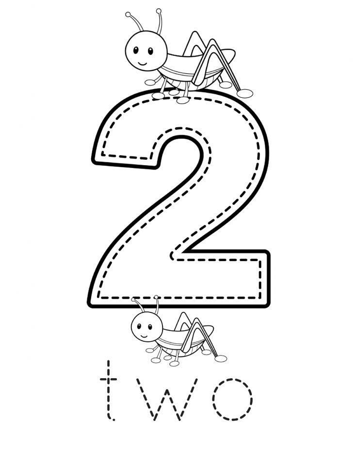 Free Preschool Number Printables | Numbers preschool ...