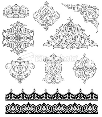 Another take on arabesque ornaments