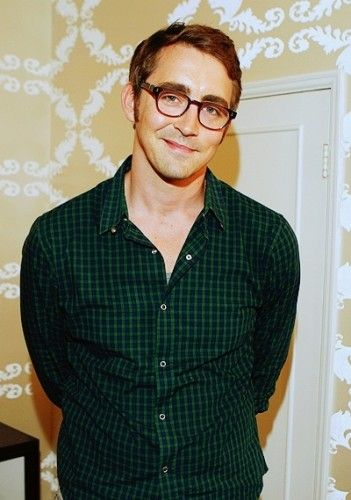 Lee Pace (I think he looks a lot like Bryan Fuller in this picture.) Why is he so freaking *cute*?