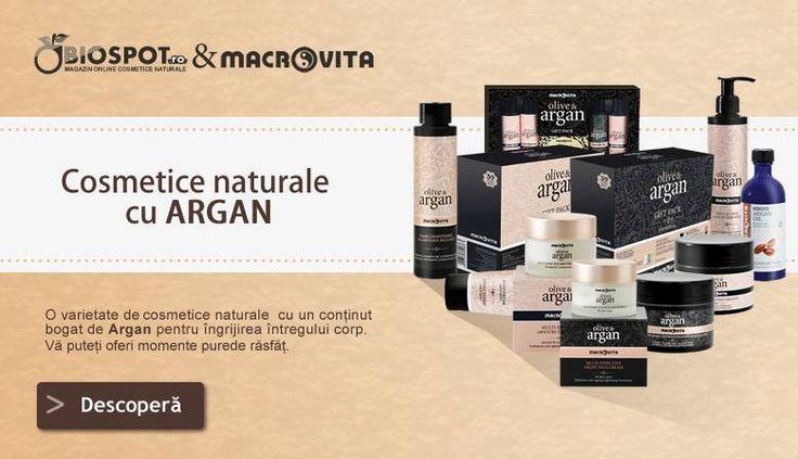 Cosmetice naturale cu Argan