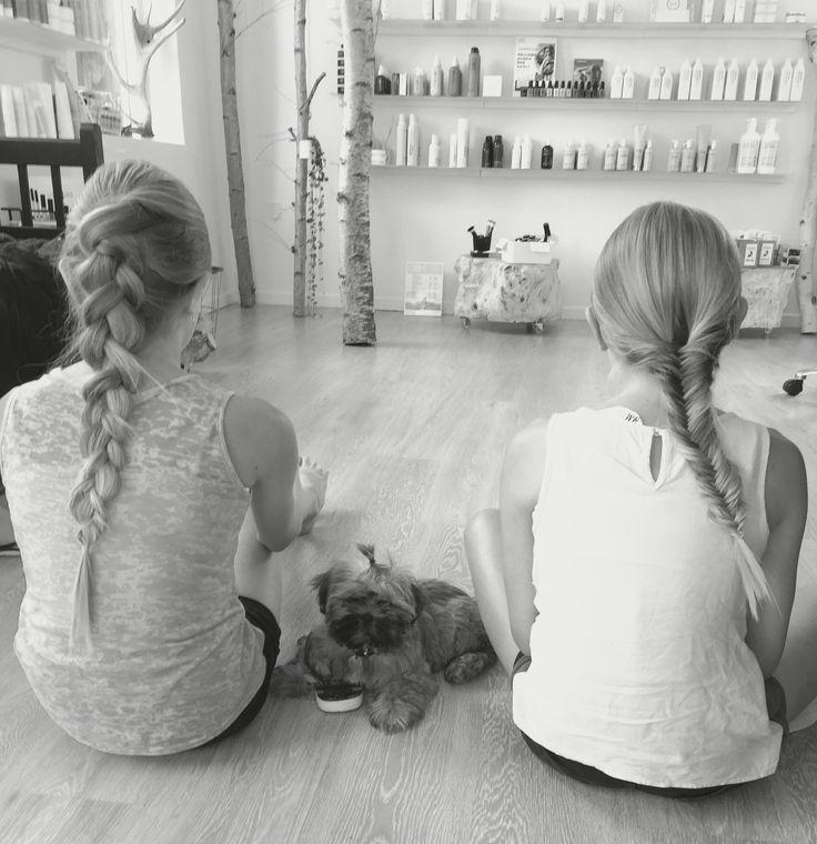 Girls braids  Fletninger på piger
