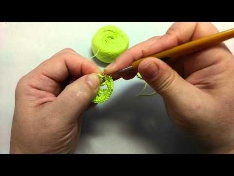 Ирландское кружево: детское платье 3 - YouTube