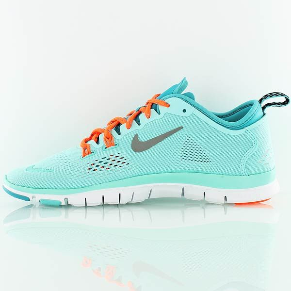 c035ee272bef Women Nike Free 5.0 TR Fit 4 Print PRT Total Orange Hyper Turq Tiffany Blue  Aqua Total Orange