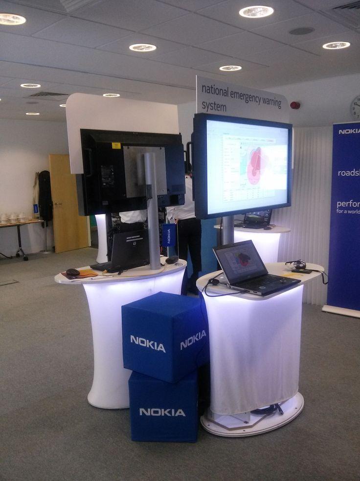 Genasys Stand in #Nokia event for @EE in Bristol, EE.