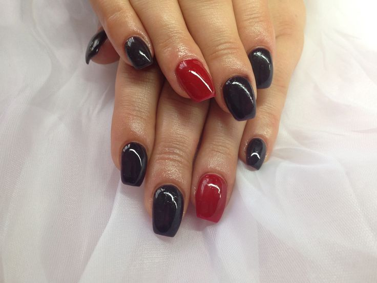 Gel nails on wide nail bed https://www.facebook.com/pages/Golden-Nails-Beauty-Midleton/262248033950856
