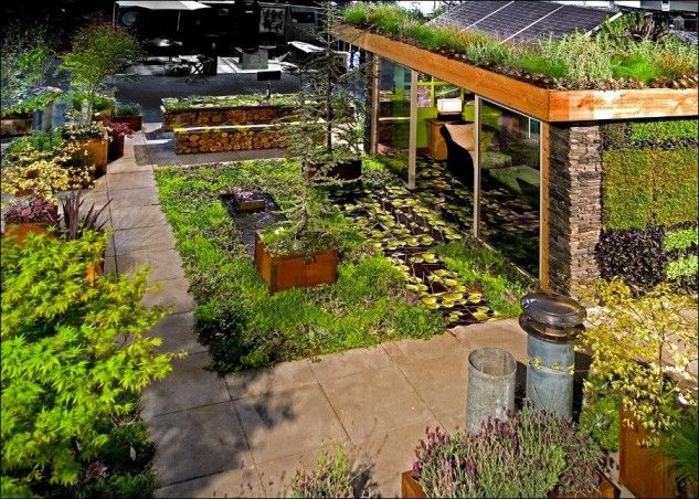 16 Ideas How To Create Classy Rooftop Gardens That Are A Treat For The Eyes