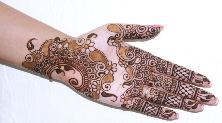 EID Special: How To Apply Henna/Mehendi Tattoo On Hand Step By Step