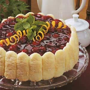 Cherry Cheese Torte   ---- Oh so good!  I calculate that this costs $10 to make.  Quite easy.  Light