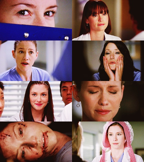 Lexie Grey up close and personal.
