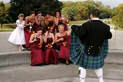 Fun Wedding Ideas Pinterest: Mooning Bridesmaids