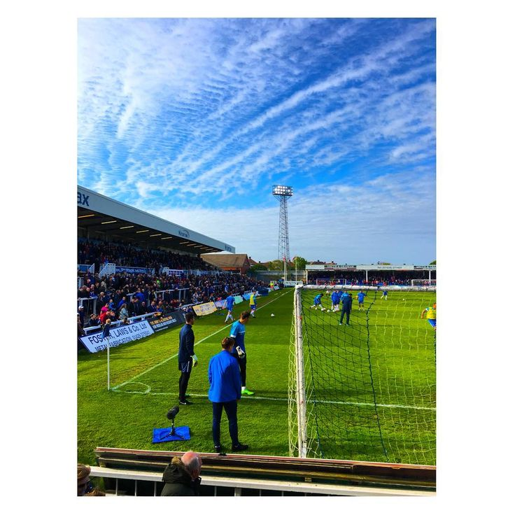 Hartlepool Utd out of the football league #PTID ��⚪️ #TheVic #photooftheday #photographer #photography #photograph #photo #football #sky #blue #hufc #hartlepool #pools #england #north #floodlight http://tipsrazzi.com/ipost/1509357961407354781/?code=BTyURGol9ed