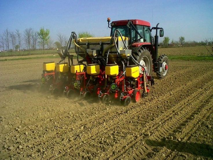Un nuovo cliente Matermacc con 8230 MIDI (BRUNI GUIDO Lavorazioni C/Terzi PD).  Stagione di semina Marzo-Aprile 2012