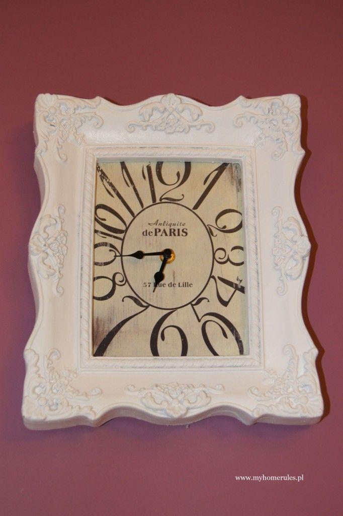 stylish bathroom clock http://myhomerules.pl/2016/02/28/na-co-zwrocic-uwage-i-czego-unikac-urzadzajac-pokoj-kapielowy/
