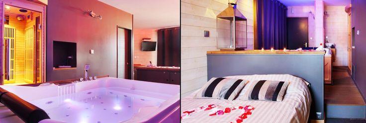 Nuit & Spa Perceval - Jacuzzi balnéo et sauna