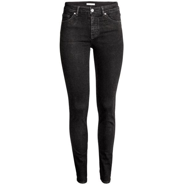 The New Minimal ($25) ❤ liked on Polyvore featuring jeans, pants, bottoms, calças, skinny jeans, super stretchy skinny jeans, stretch jeans, skinny leg jeans and stretchy jeans