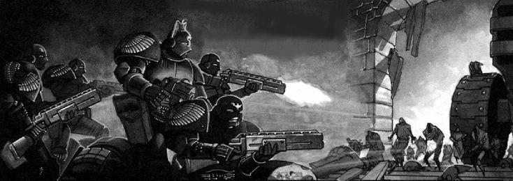 Adeptus Arbites / Enforcers - Necromunda - Warhammer 40K - GW