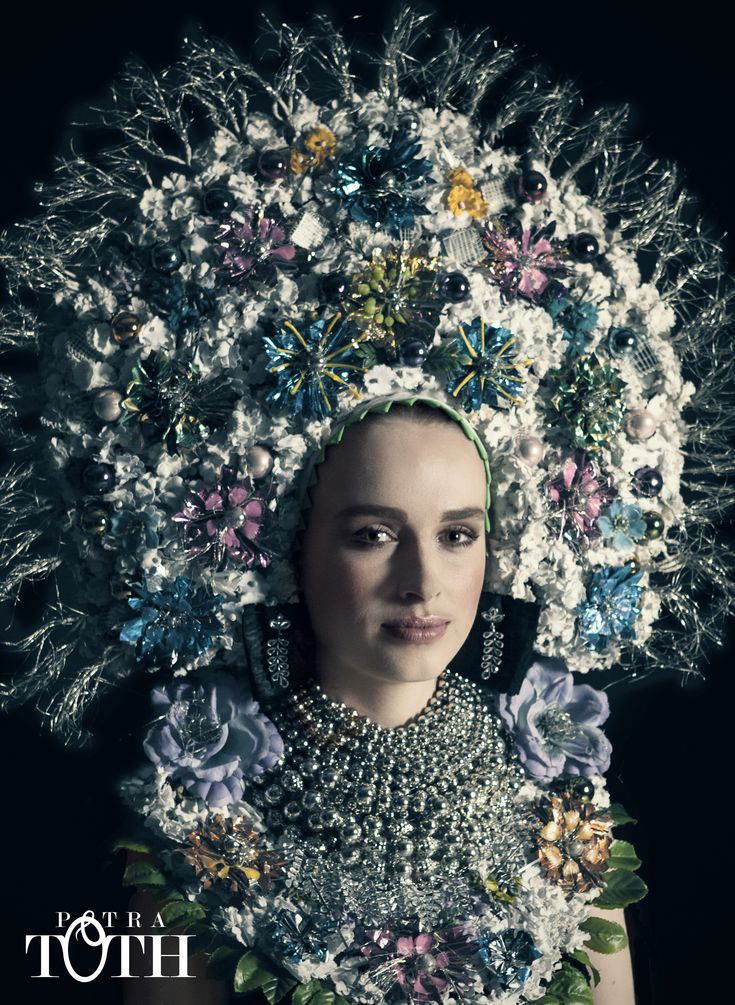 Slavic Bride with jewels by Petra Toth.