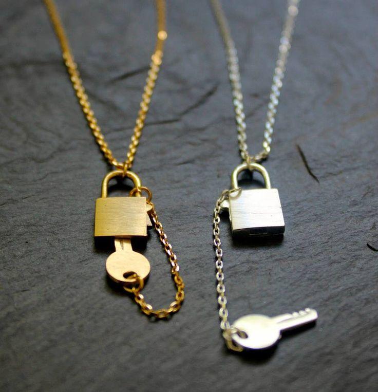 Key lock  Necklace!
