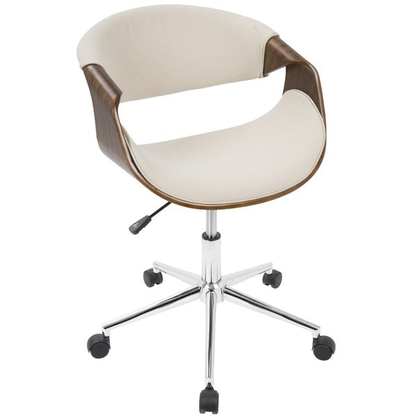 Curvo Mid-Century Modern Office Chair by LumiSource | Overstock.com Shopping - The Best Deals on Office Chairs
