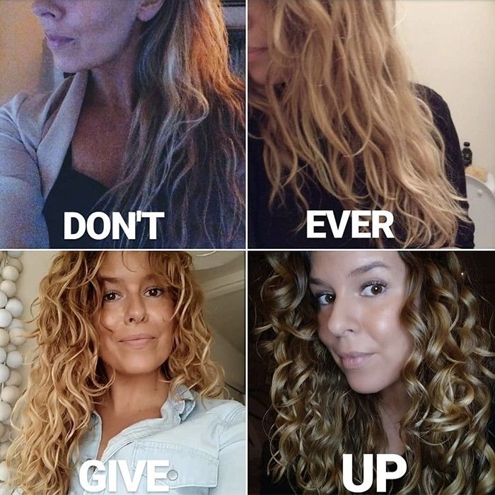 Texture Tales Dominique Shares Her Secret To Natural Beach Waves Curly Girl Method Curly Hair Styles Curly Girl